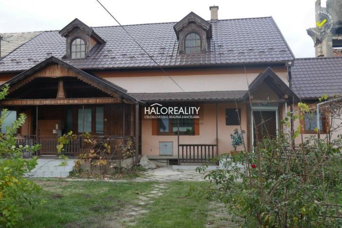 Reality Predaj, rodinný dom Trebeľovce, okr. Lučenec - EXKLUZÍVNE HALO REALITY
