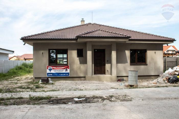 Reality Na predaj: 4-izbový rodinný dom Veľké Blahovo 101 m2