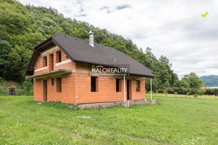 Reality Predaj, rodinný dom Budča, okr. Zvolen - NOVOSTAVBA