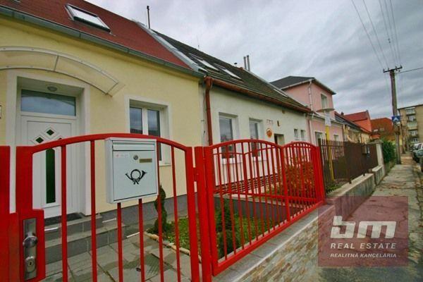 Reality Rodinný dom na Záborského ul. Nové Mesto