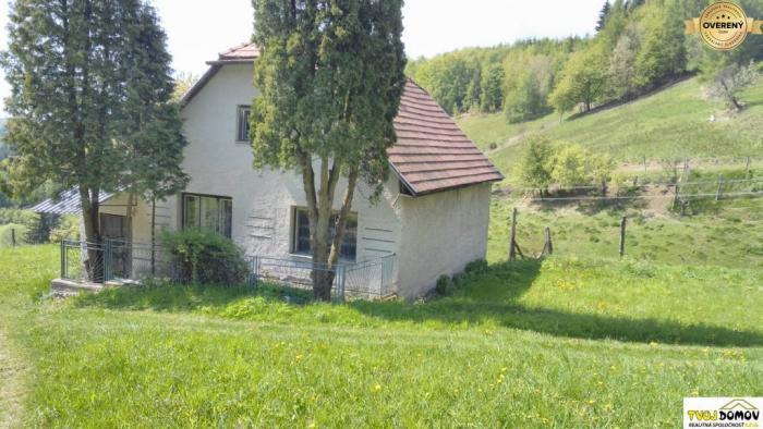 Reality Rodinný dom vhodný aj na chalupu neďaleko Košútky, Hriňová