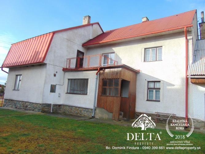 18ed51e76 Reality EXKLUZÍVNE - Dvojgeneračný rodinný dom na predaj Gerlachov