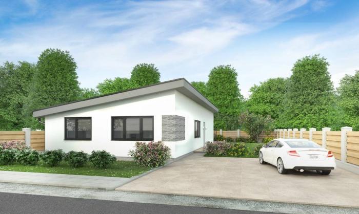 Reality NOVINKA! 4 izbové domy v obci Hviezdoslavov, všetky IS, parkovanie, št