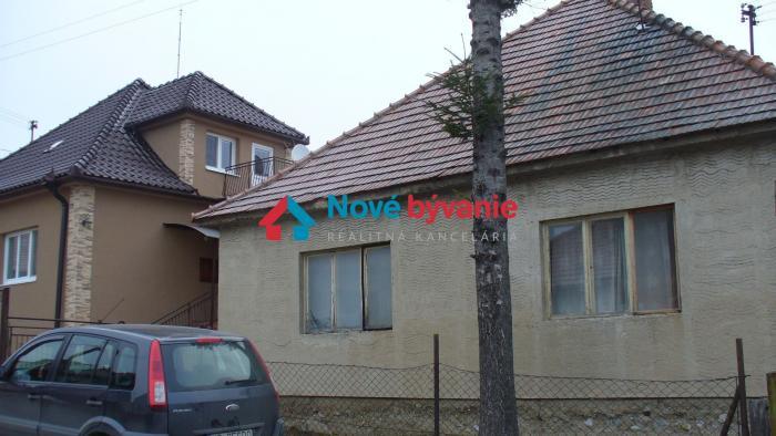 Reality Predaj 2-izbového rodinného domu 682407e5131