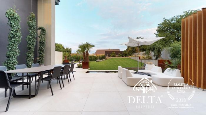 Reality DELTA | Luxusná vila so 7 izbami, bazénom a hosťovským domom