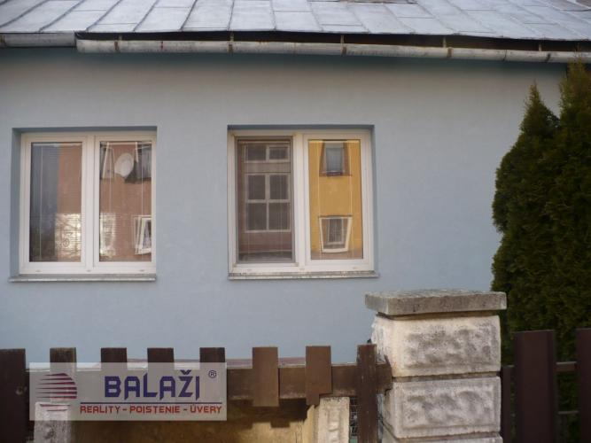 Reality Vrútky dvojgeneračný rodinný dom vhodný aj na podnikanie na pozemku 1377 m2.
