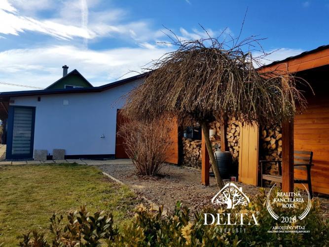 Reality DELTA - EXKLUZÍVNE krásny domček, ideálny ako rekreačná/víkendová nehnuteľnosť v obci Rima