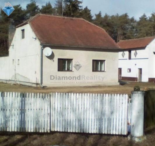 Reality Na predaj 4 izbový rodinný dom - hájenka, Borský Mikuláš