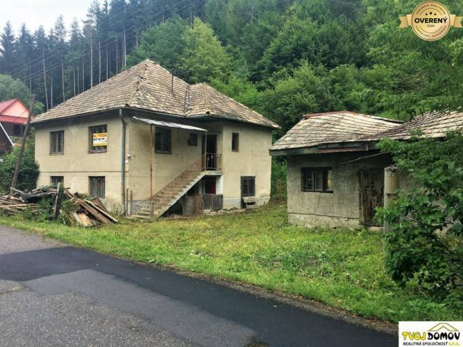 Reality Rodinný dom s prístavbou vhodný aj na chalupu, Dolná Bzová