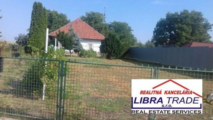 Reality Rodinný dom na predaj v obci Jasová.