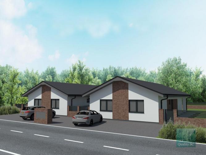 Reality SENEC - NA PREDAJ NÍZKO ENERGETICKÁ NOVOSTAVBA 4 izbového samostatne stojaceho bungalovu (ešte m