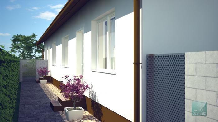 Reality Horná Potôň, okr. Dunajská Streda – NA PREDAJ NOVOSTAVBA 3 izbový byt v rodinnom dvojdome s t