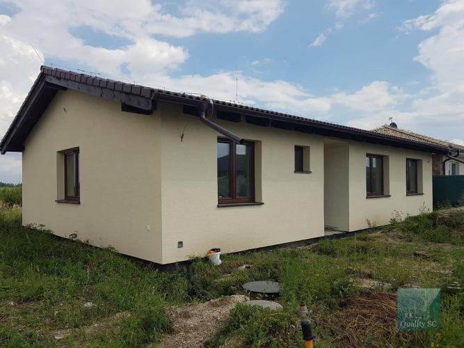 Reality Okr. SENEC - obec Nová Dedinka NA  PREDAJ - NOVOSTAVBA samostatný 4 izbový rodinný dom na 5,44