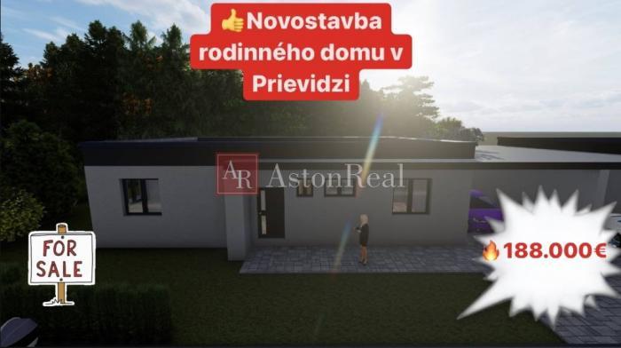 Reality Predaj: NOVOSTAVBA rodinného dumu v Prievidzi