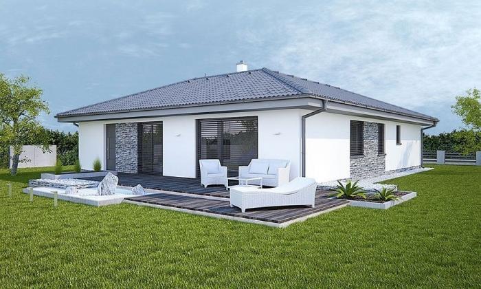 Reality Perfektne riešený 4-izbový rodinný dom na priestrannom pozemku 692m2