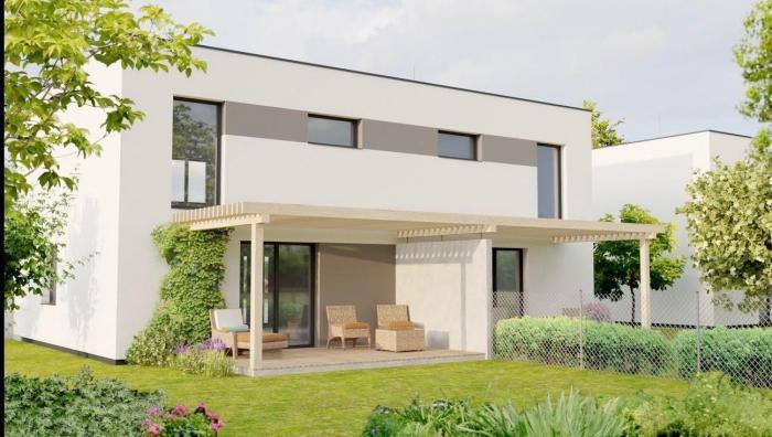 Reality Krásne zhotovený 4-izbový rodinný dom v novej lokalite neďaleko supermarketu Billa