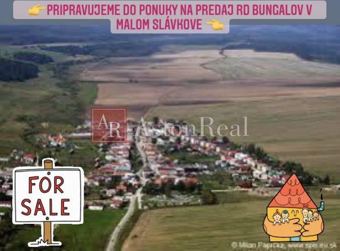 Reality AstonReal pripravuje do ponuky na predaj v Malom Slavkove bungalov RD