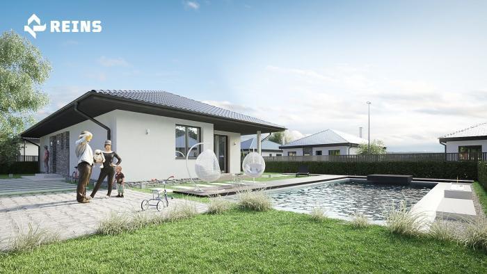Reality Predaj novostavby nízkoenergetický, inteligentný dom s rekuperáciou