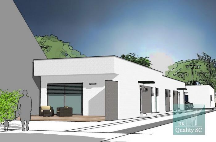 Reality Okr. SENEC - NA PREDAJ - 4 izbový dom s terasou a predzáhradkou v dvojdome v zastavanej časti obc