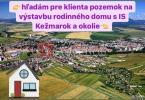 Reality Hľadám pre klienta stavebný pozemok na výstavbu RD Kežmarok a okolie