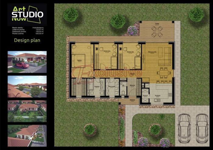 Reality Rodinné domy s veľkými pozemkami