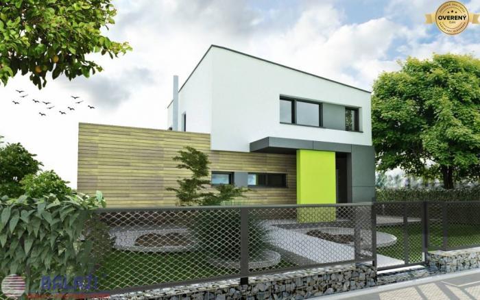Reality DREVODOM - NÍZKOENERGETICKÝ 4 izbový, 85 m2, okr. Nitra