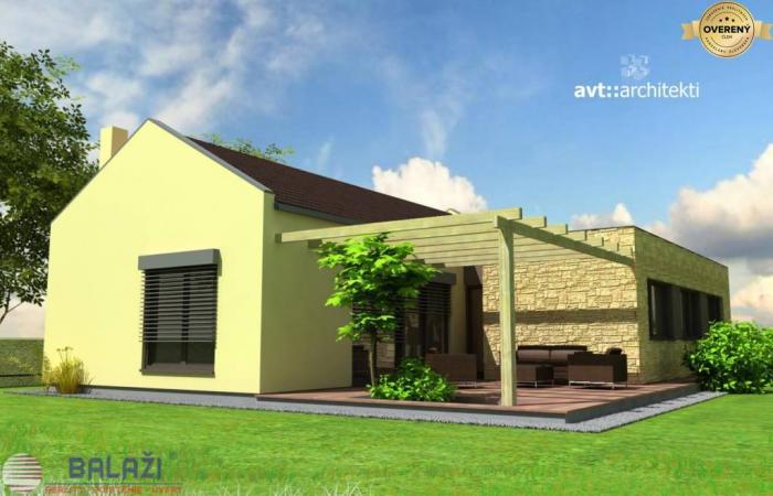 Reality DREVODOM - NÍZKOENERGETICKÝ 4 izbový, 130 m2, okr. Nitra