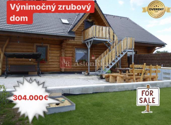 Reality ZNÍŽENÁ CENA: ZRUB v Prievidzi o výmere 320 m2, pozemok 1248 m2
