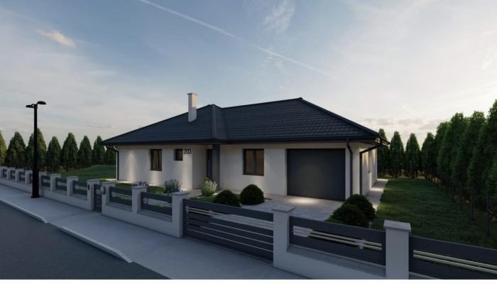 Reality Novostavba 4i tehlového rodinného domu s garážou, pozemok 525 m2, Nové Mesto nad Váhom / Pod k