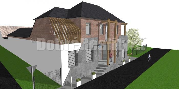 Reality PREDAJ: Historická budova - obchodný priestor s bytom, 414 m2, obec Polomka, okres Brezno