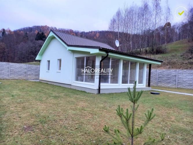 Reality Predaj, rodinný dom Malá Čausa, vedený ako rekreačná chata,  - NOVOSTAVBA - EXKLUZÍVNE HALO R