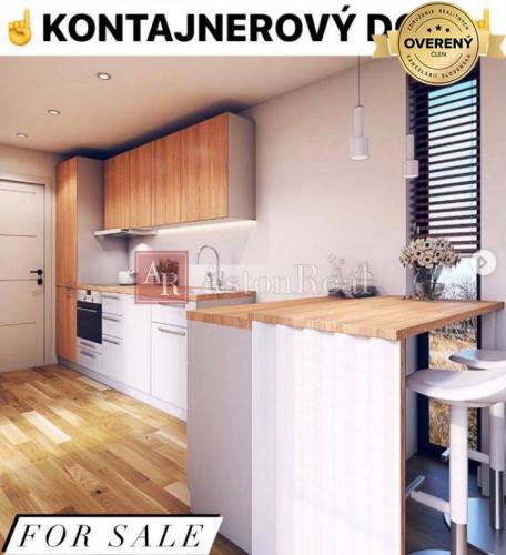Reality PREDAJ: Kontajnerový dom L-30 (30 m2, s predprípravou na kuchyňu)