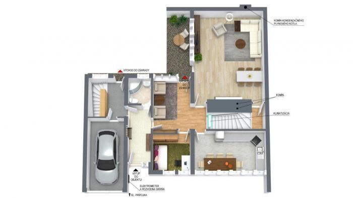 Reality AFYREAL predaj veľký 289m2, 5izb dom Svätý Jur, tiché prostredie