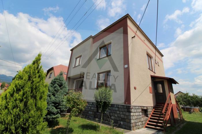 Reality 6-izbový dom dom, Sučany