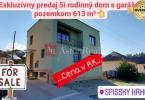 Reality Rodinný dom, Komenského, predaj, Komenského, Levoča