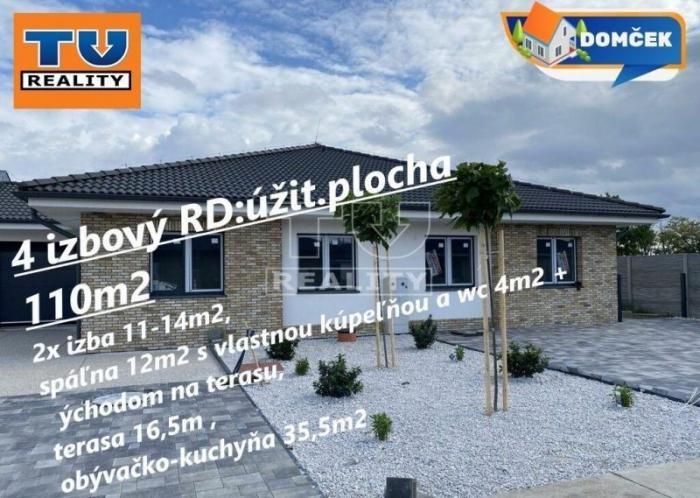 Reality POSLEDNÝ moderný 4iz RD-Rich.pole 127m2!