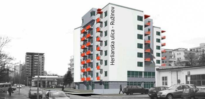 Reality Polyfunkčný bytový dom Atrium