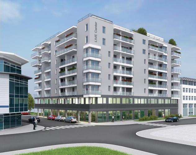 Reality LIVE Center - Nové byty v centre Lipt. Mikuláša