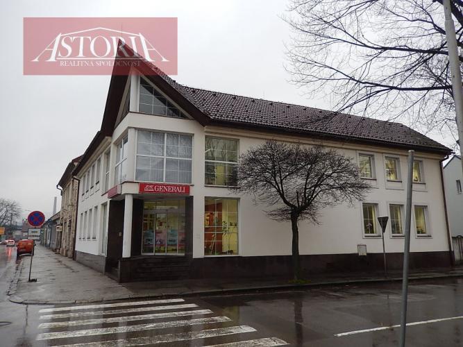 Reality Na predaj administratívna budova v centre mesta Martin