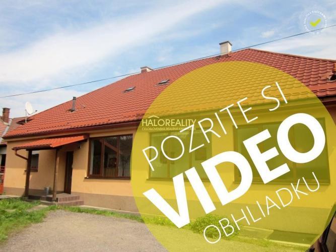 Reality Predaj, komerčný objekt - rodinný dom Žarnovica