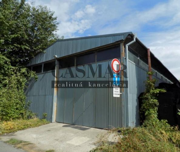 Reality CASMAR RK ponúka na predaj halu 660m2 v Trnave na Skladovej ul.