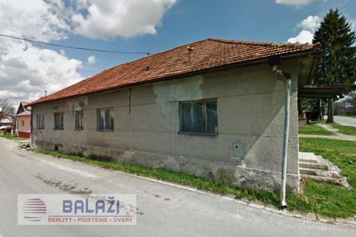 Reality VEĽKÝ ČEPČÍN -  dom, budova  na pozemku 547m2 okr. Turčianske Teplice