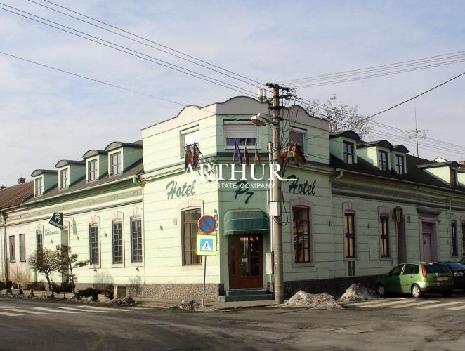 Reality ARTHUR - Hotel v plnej prevádzke na predaj- centrum Lučenca