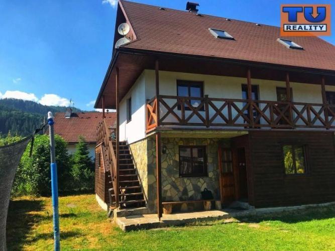 Reality Na predaj zabehnutý penzión v Podbieli, 81m2. CENA: 125 000,00 EUR