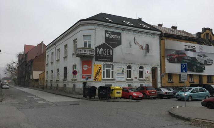 Reality Paseo Realitypredaj tehlovú budovu v centre Košíc na ulici Senný trh