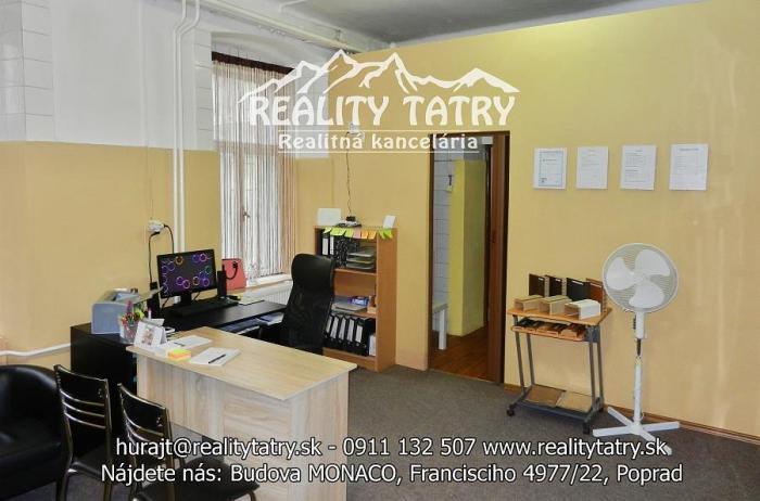 Reality Obchodné priestory blízko centra mesta - odporúčame.