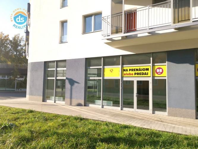 Reality Na prenájom obchodný priestor, 95 m2, Trenčianske Teplice, ul. Ľudmily Podjavorinskej