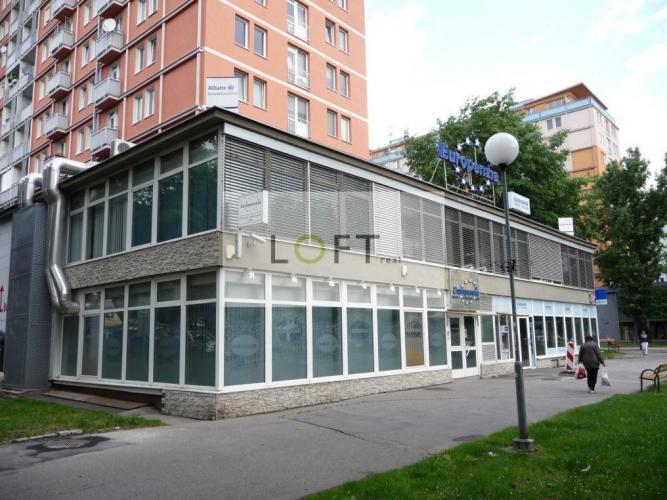 Reality Predaj obchodné priestory Nové Mesto BA III, Račianska