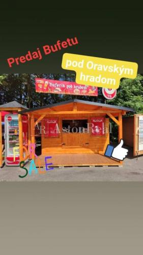 Reality Na predaj BUFET pod Oravským hradom, Dolný Kubín