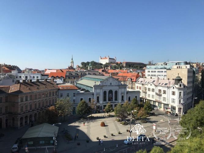 Reality DELTA | Obchodné priestory a kancelárie v centre, Námestie SNP, Bratislava
